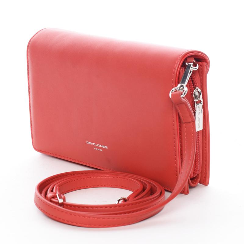 Elegantní crossbody Francesca, červená
