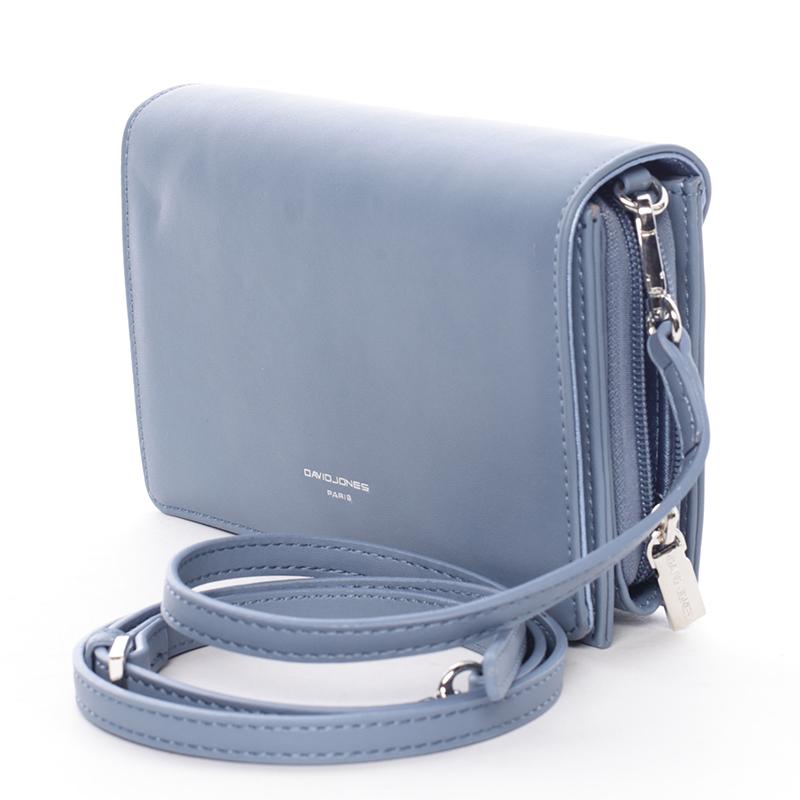 Elegantní crossbody Francesca, modrá