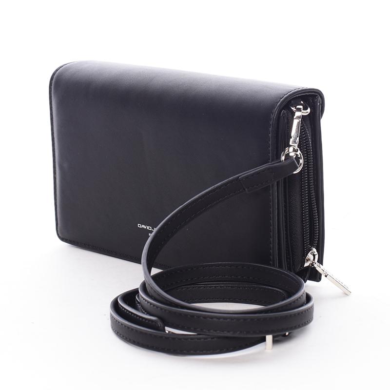 Elegantní crossbody Francesca, černá