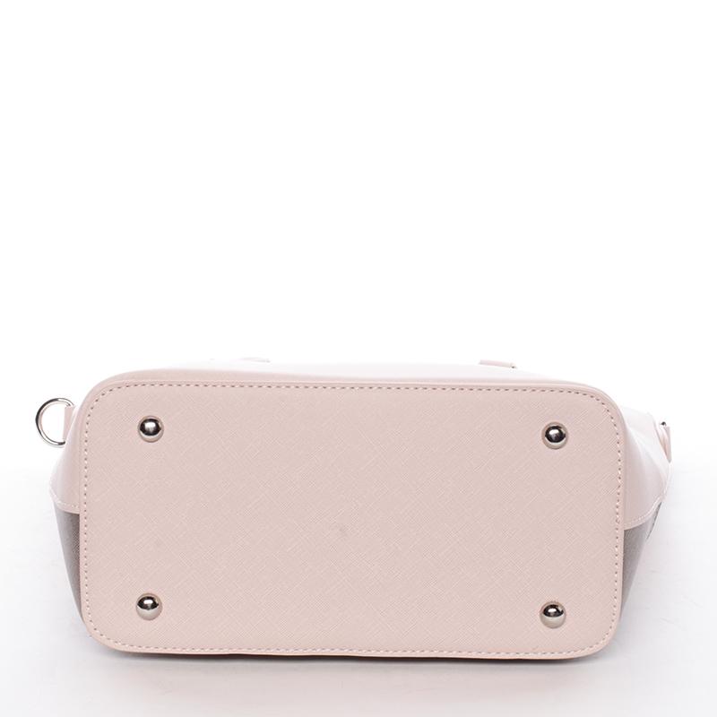 Luxusní dámská kabelka Deja, růžová