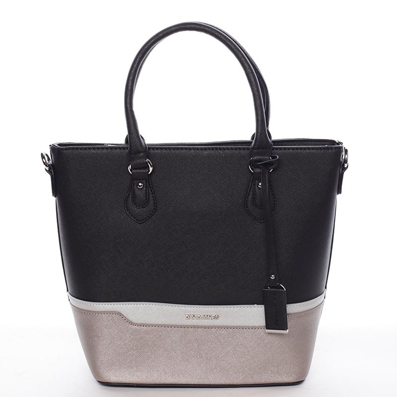 Luxusní dámská kabelka Deja, černá