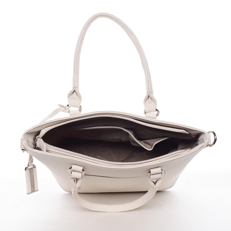 Luxusní dámská kabelka Deja, béžová