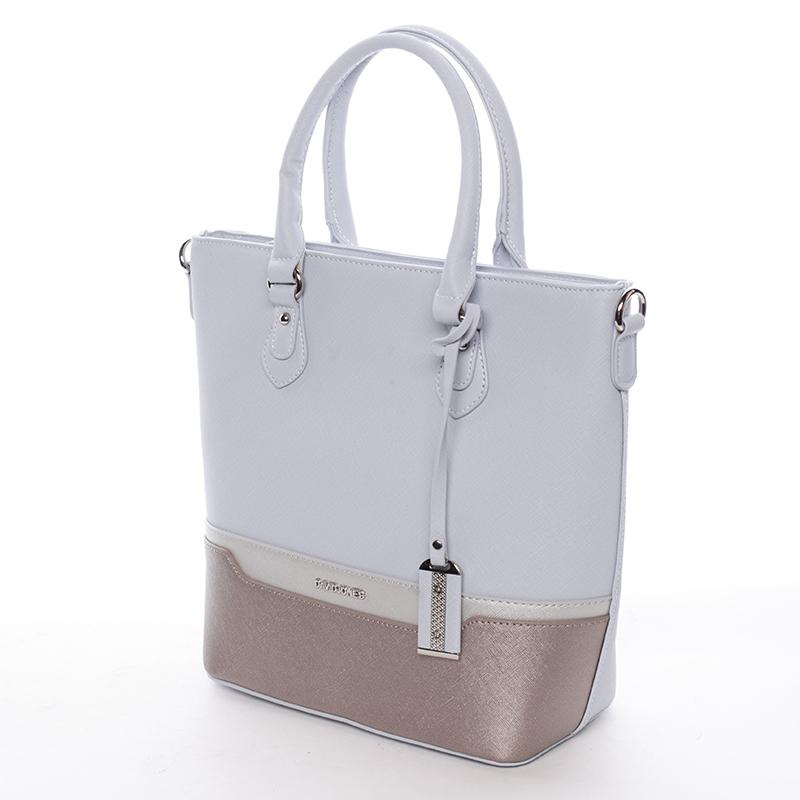 Luxusní dámská kabelka Deja, světle modrá
