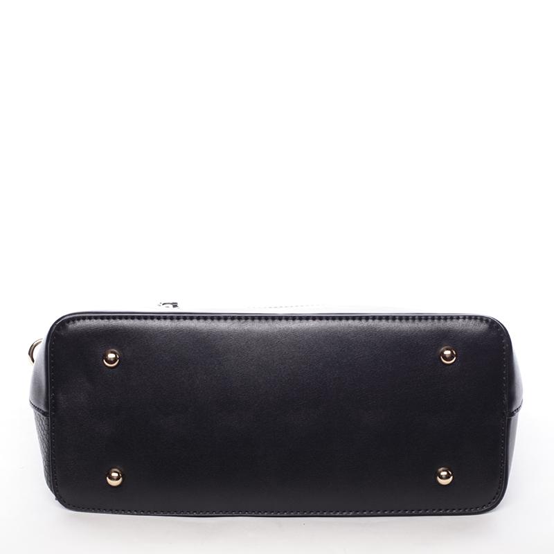 Dámská elegantní kabelka do ruky i přes rameno Brandi, černá