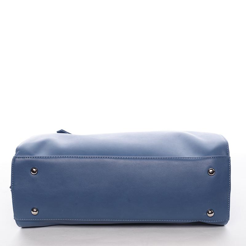 Trendy kabelka do ruky i přes rameno Bianca, světle modrá
