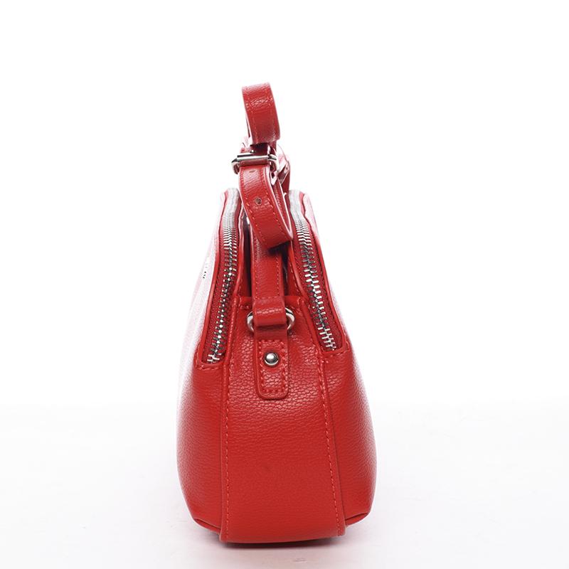 Menší crossbody kabelka Sadie, červená