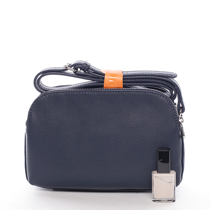 Menší crossbody kabelka Sadie, páví modrá