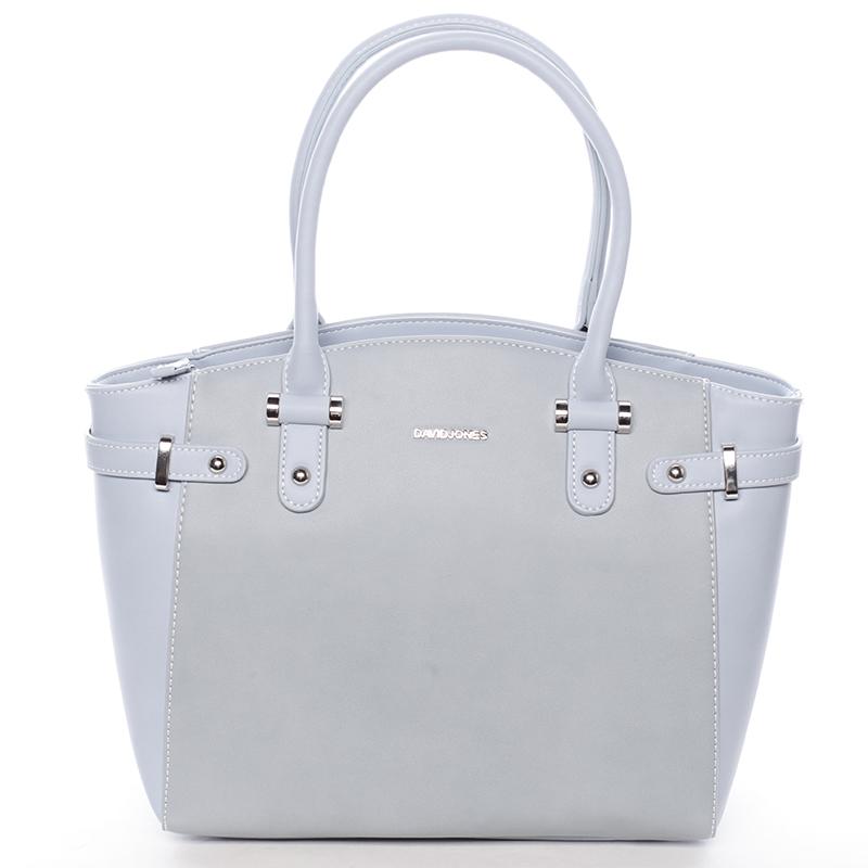 Stylová dámská kabelka do ruky i přes rameno Sasha, modrá