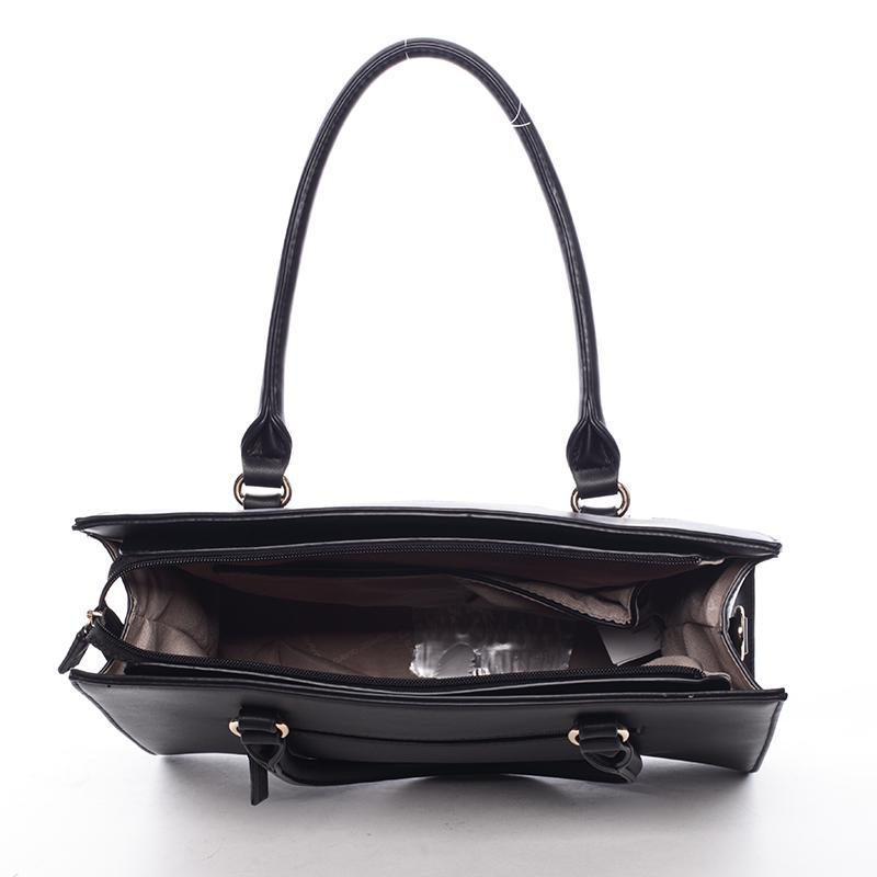Trendy kabelka do ruky Princess, černá