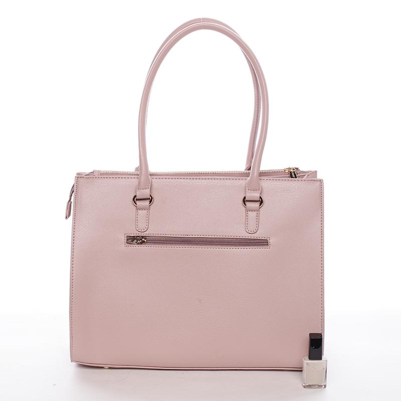 Dámská větší kabelka Kacie, růžová