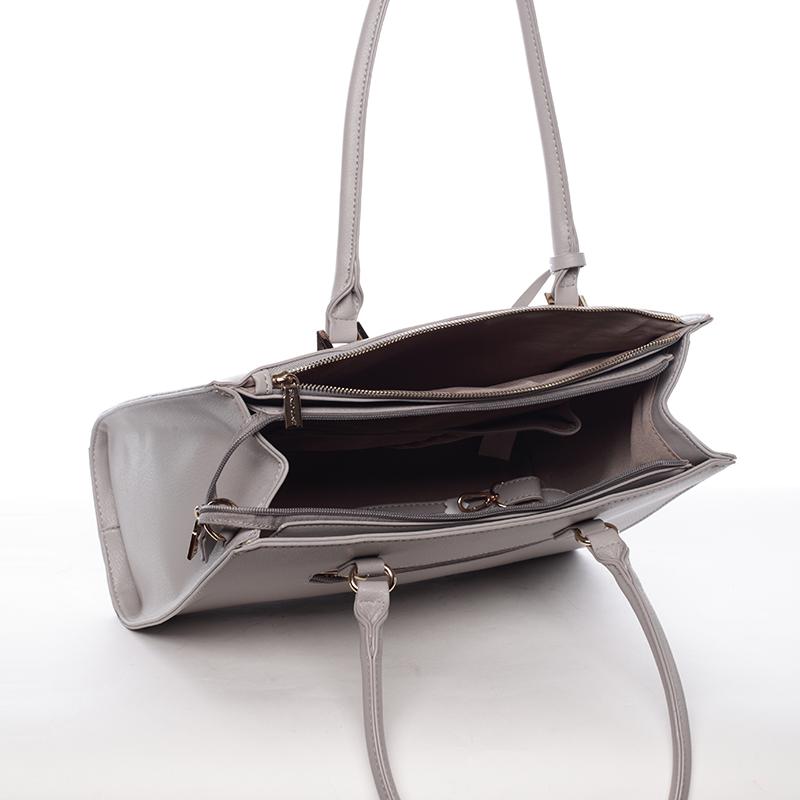 Dámská větší kabelka Kacie, šedá