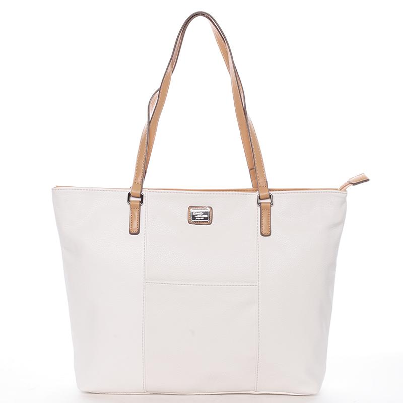 Dámská kabelka přes rameno Isabel, bílá