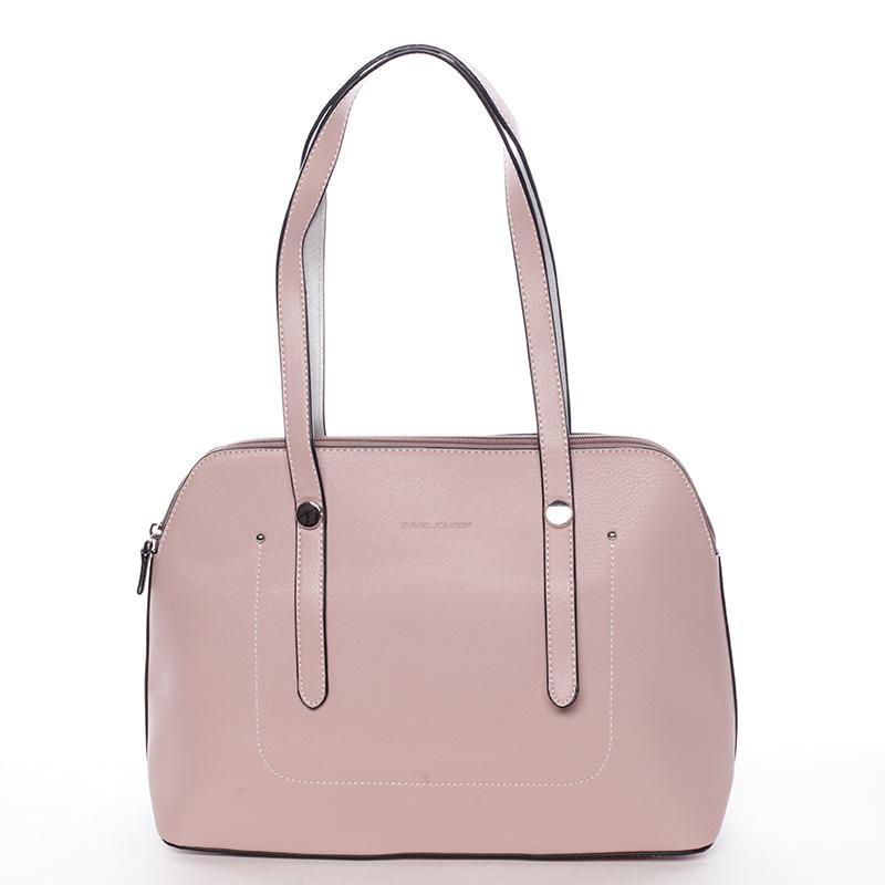 Trendová kabelka přes rameno Paola, růžová