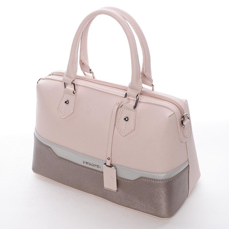 Stylová dámská kabelka Kaela, růžová