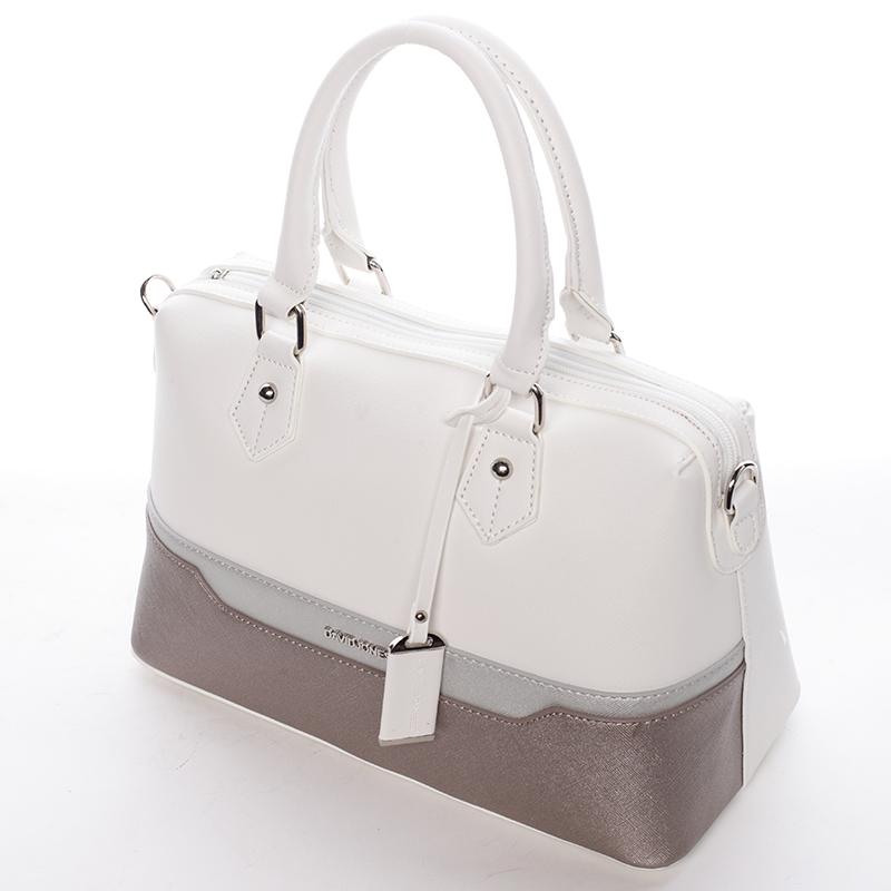 Stylová dámská kabelka Kaela, bílá
