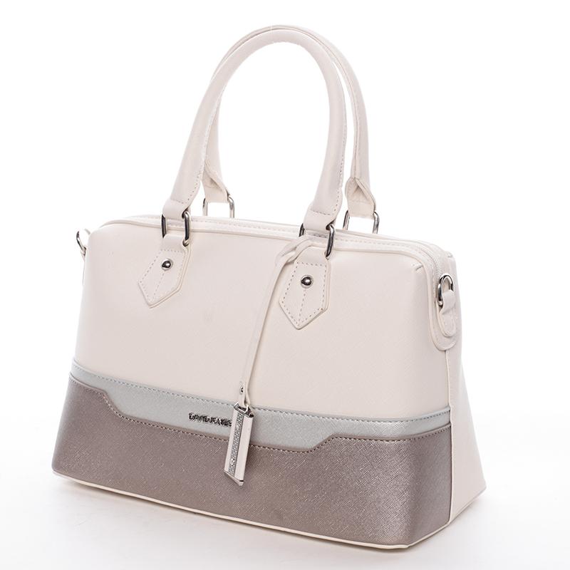 Stylová dámská kabelka Kaela, béžová