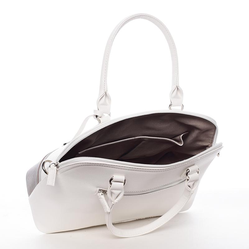 Dámská kabelka do ruky Sade, bílá