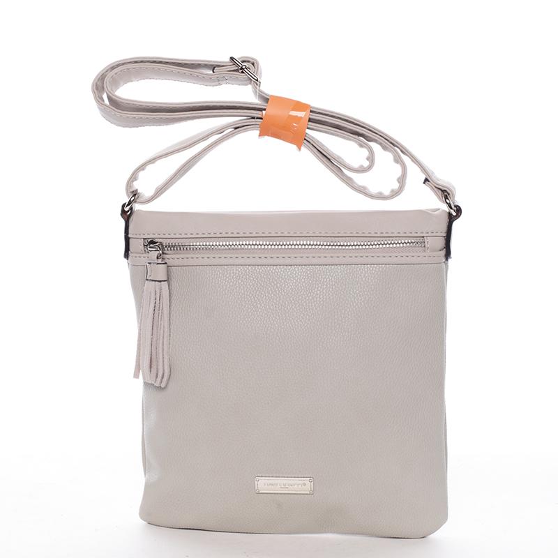 Crossbody kabelka Macy, tmavě šedá