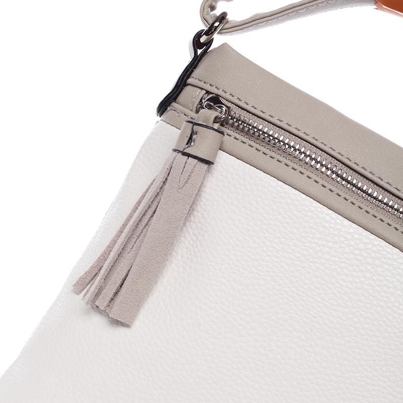 Crossbody kabelka Macy, bílá