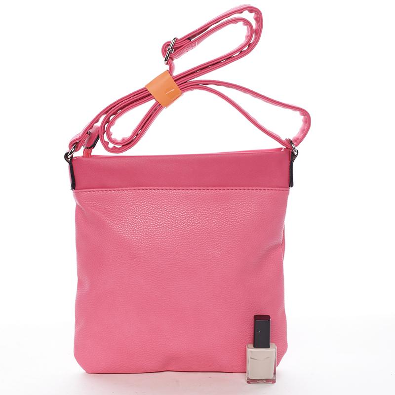 Crossbody kabelka Macy, fuchsiová