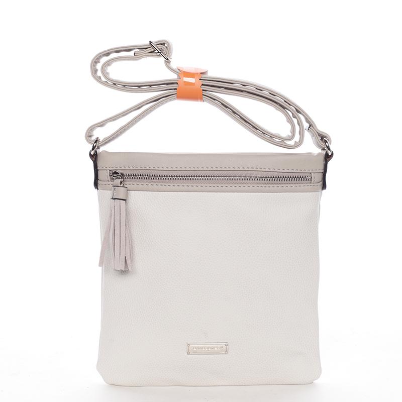 Crossbody kabelka Macy, krémově šedá
