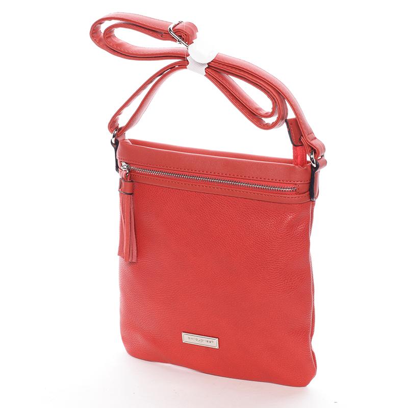Crossbody kabelka Macy, červená
