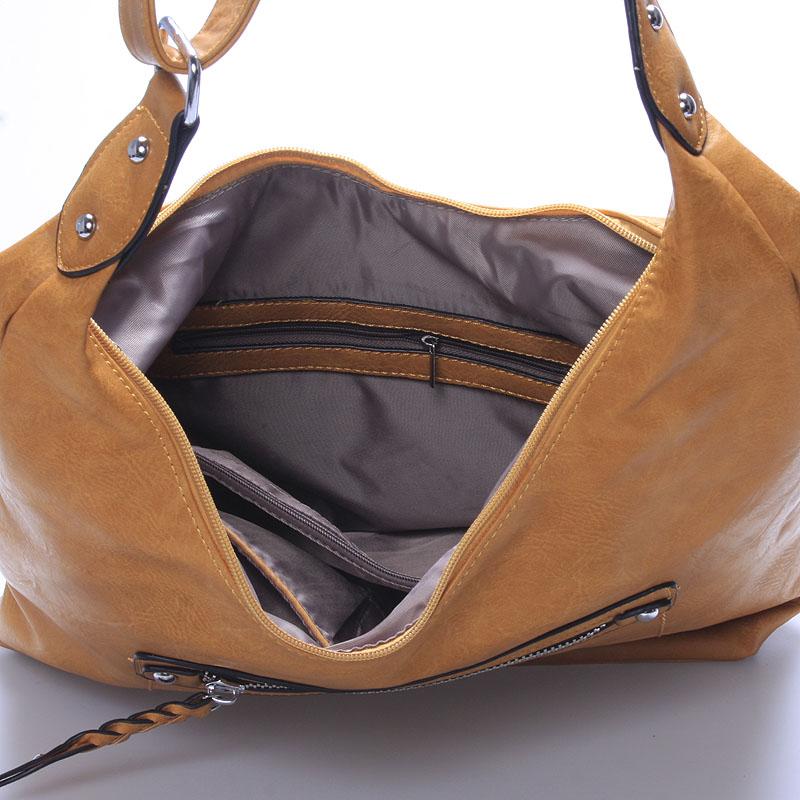 Trendy crossbody kabelka Damaris, hnědá