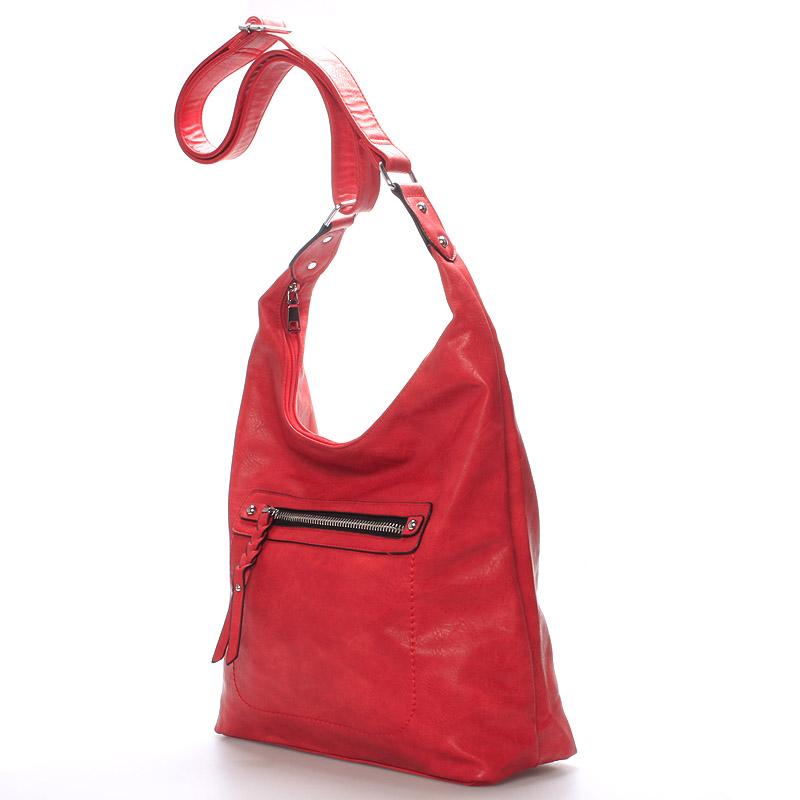 Trendy crossbody kabelka Damaris, červená