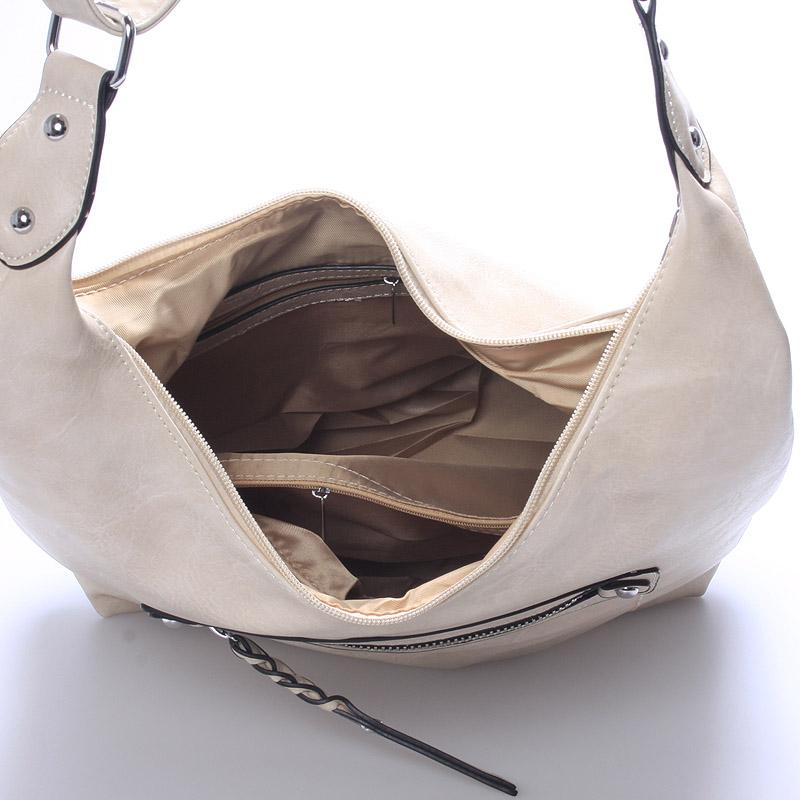 Trendy crossbody kabelka Damaris, béžová