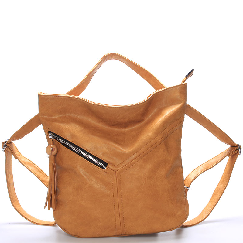 Dámská kabelka i batoh Danna, hnědá