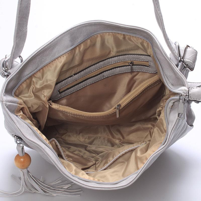 Dámská kabelka i batoh Danna, šedá