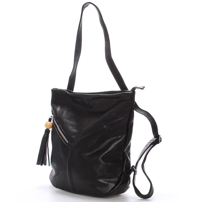 Dámská kabelka i batoh Danna, černá