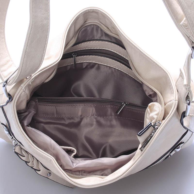 Crossbody kabelka Monserrat, béžová