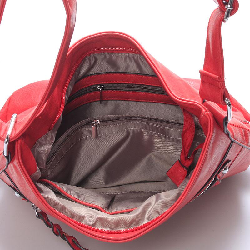 Crossbody kabelka Monserrat, červená