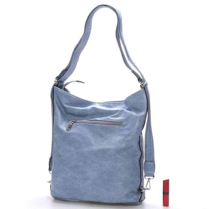Trendy crossbody kabelka Mina, modrá