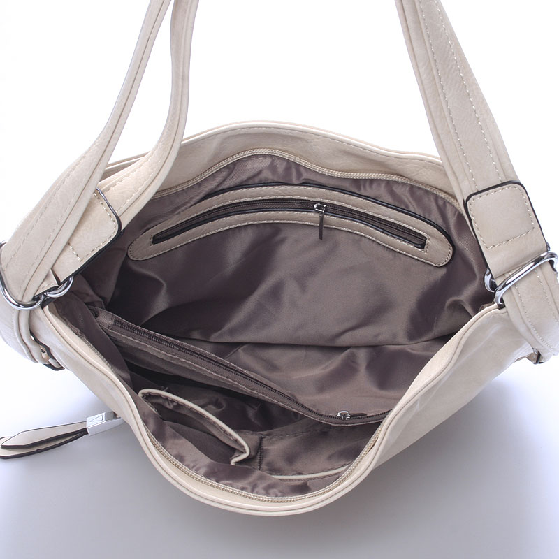 Trendy crossbody kabelka Mina, béžová