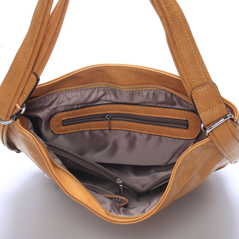 Trendy crossbody kabelka Mina, hnědá