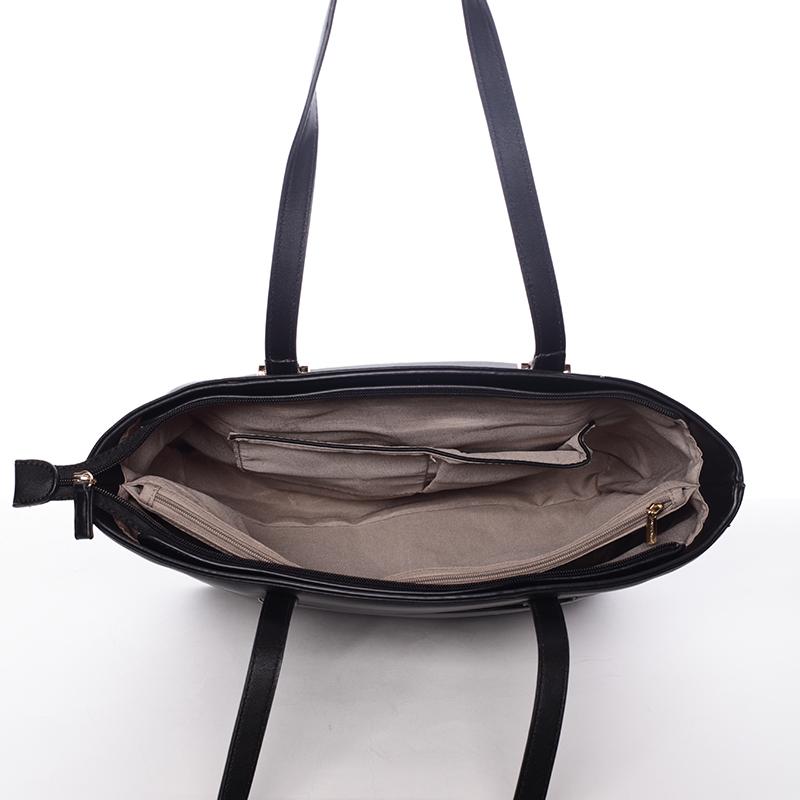 Elegantní kabelka přes rameno Kaia, černá