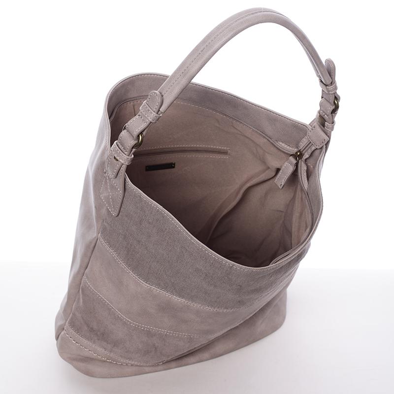Dámská kabelka přes rameno Kaelyn, šedá