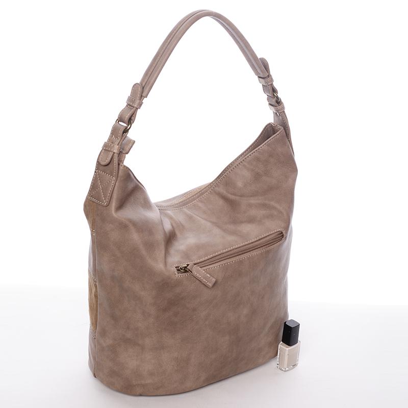 Dámská kabelka přes rameno Kaelyn, hnědá