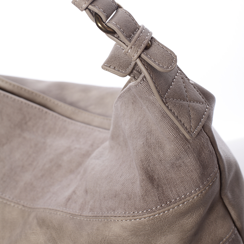 Dámská kabelka přes rameno Kaelyn, světle oříšková