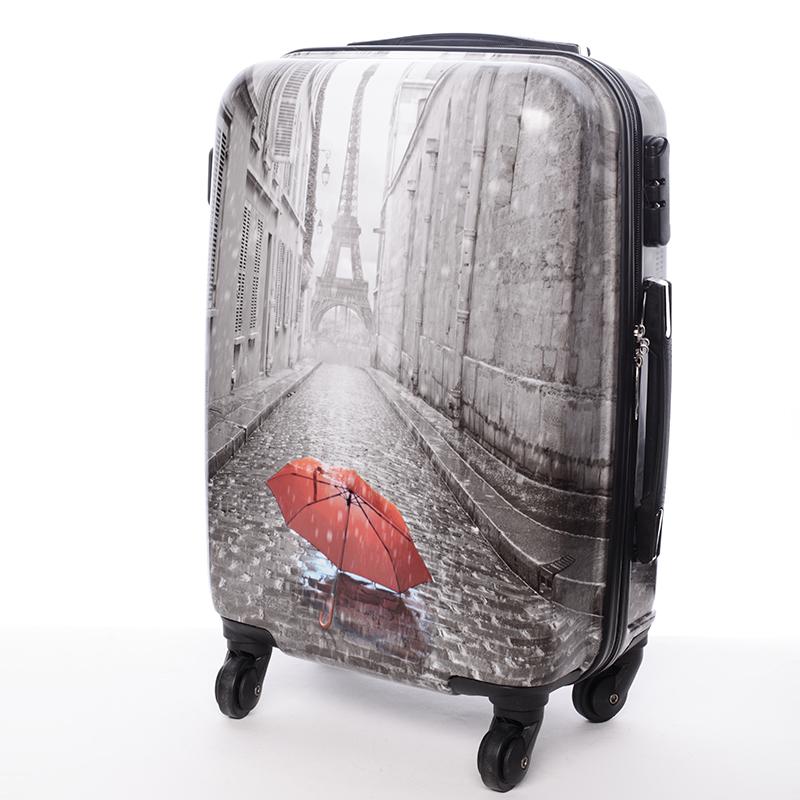 Cestovní kufr PARIS, velikost I, 4 kolečka