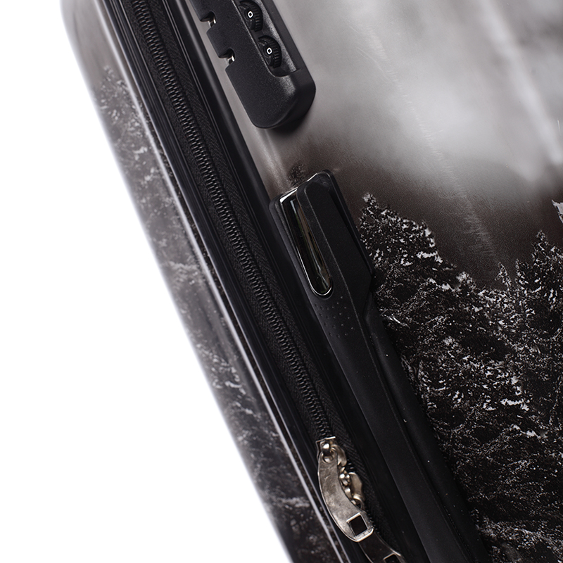 Cestovní kufr WASHINGTON, velikost I, 4 kolečka
