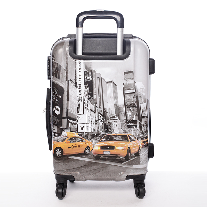 Cestovní kufr NEW YORK, velikost I, 4 kolečka