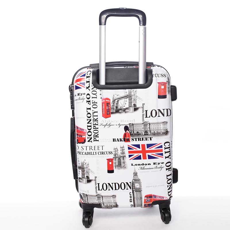 Cestovní kufr ROYAL UK, velikost III, 4 kolečka