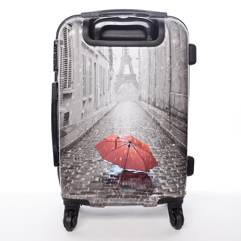 Cestovní kufr PARIS, velikost II, 4 kolečka