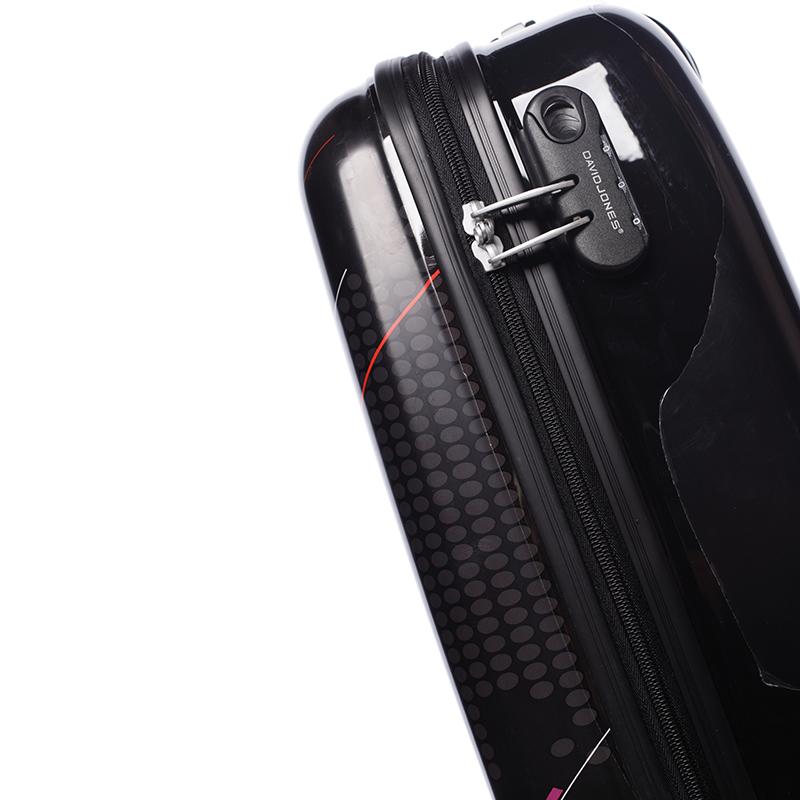 Cestovní kufr Global, DAVID JONES velikost II, 2 kolečka