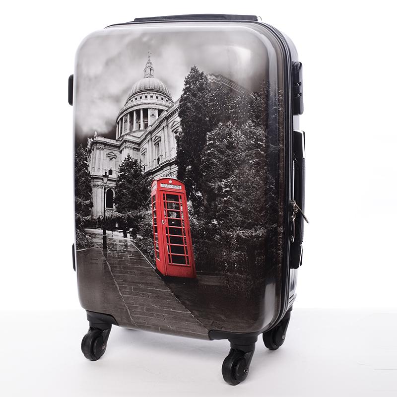 Cestovní kufr WASHINGTON, velikost II, 4 kolečka