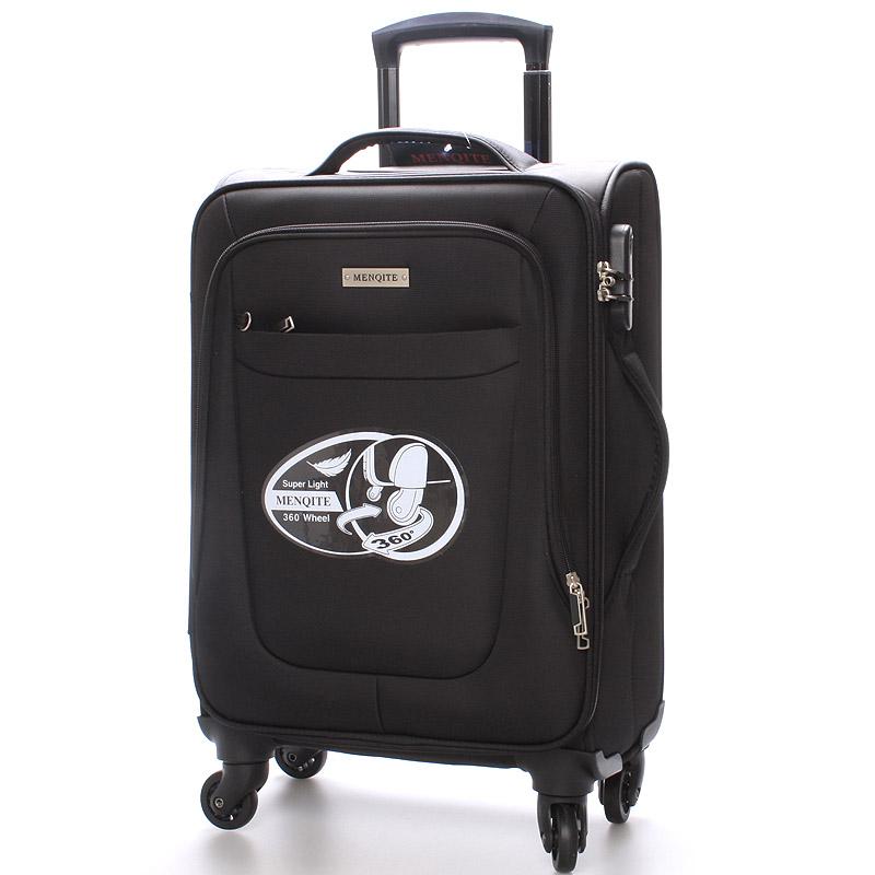 Cestovní kufr na 4 kolečkách, velikost I, 2,4kg černý