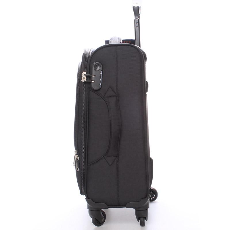 Cestovní kufr na 4 kolečkách, velikost III, 3,6kg černý